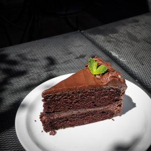 vegan Chocolate cake, plantbased chocolate cake, dairy free Chocolate cake, vegan restaurant Winnipeg, vegan Winnipeg